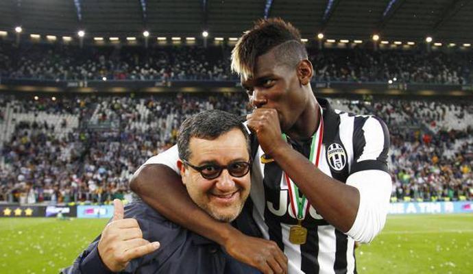 Juve, senti Raiola: 'Solskjaer offensivo, Pogba non è proprietà dello United. Italia seconda casa, parleremo col club'