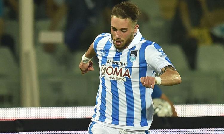 Pescara, Zampano: 'Non sono rimasto controvoglia, anche se la Serie A...'