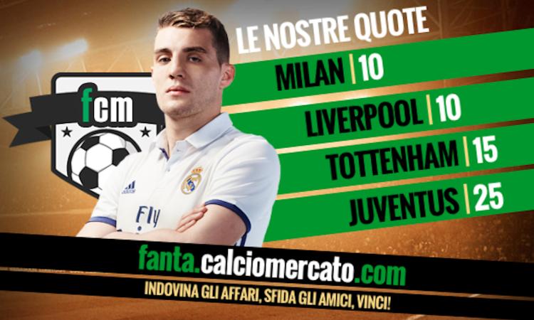 Kovacic, il Real Madrid apre al prestito: è sfida Milan-Liverpool