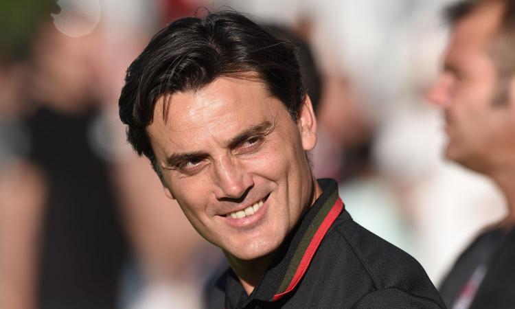 Milan, Montella: 'Suso stia sereno, si abituerà a giocare lì, stia sereno. André Silva...' VIDEO