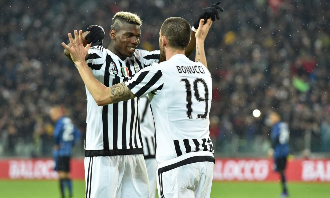 Juve: Vidal, Pogba e ora... Bonucci!