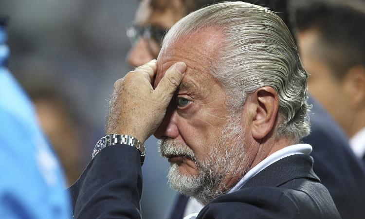 De Laurentiis: 'Alla Juve non è bastato Ronaldo, il calcio è City-Tottenham. In Italia siamo alla preistoria'