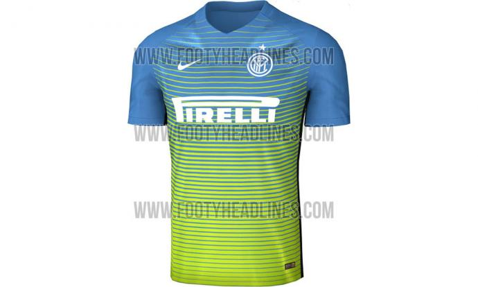 new style 9ece1 57f48 Inter's 2016-17 third kit leaked on Twitter | English News ...