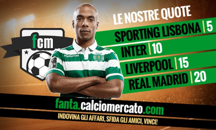 L'Inter si spinge fino a 50 milioni per Joao Mario: adesso lo Sporting traballa