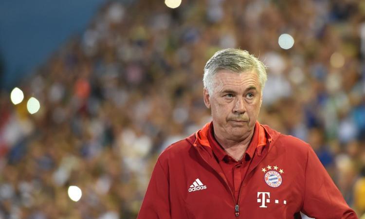 Ancelotti: 'Tante chiacchiere in estate, ma quando le partite contano il Bayern c'è'