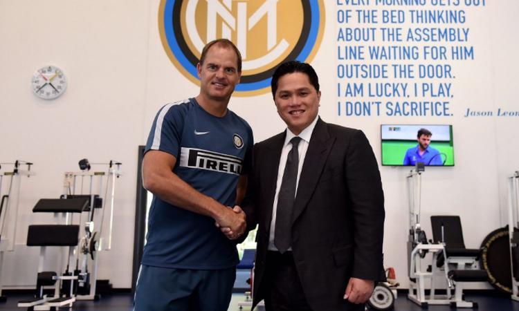 Thohir, primo contatto con de Boer: 'Grazie Mancini, rinforzerò l'Inter'