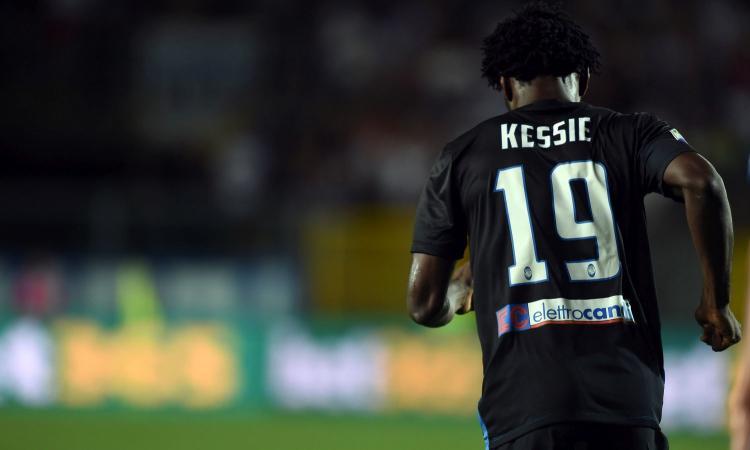 Kessié, un diamante nero: l'opzione del Napoli e gli occhi addosso di Paratici