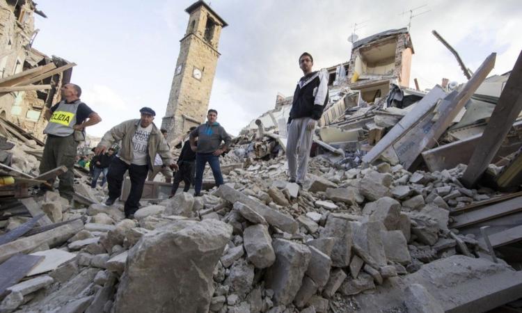 Terremoto Centro Italia, i messaggi di vicinanza del mondo del calcio