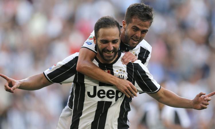 Juve: Pjanic riprende a correre, Allegri lo vuole per la Lazio