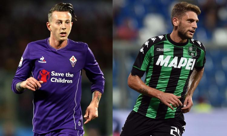 Inter, Suning vuole il colpo made in Italy: Berardi o Bernardeschi