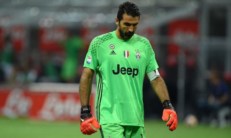 Juve, Buffon ancora a parte