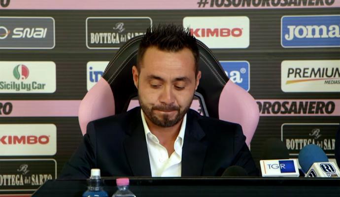 De Zerbi vince la causa contro il Palermo