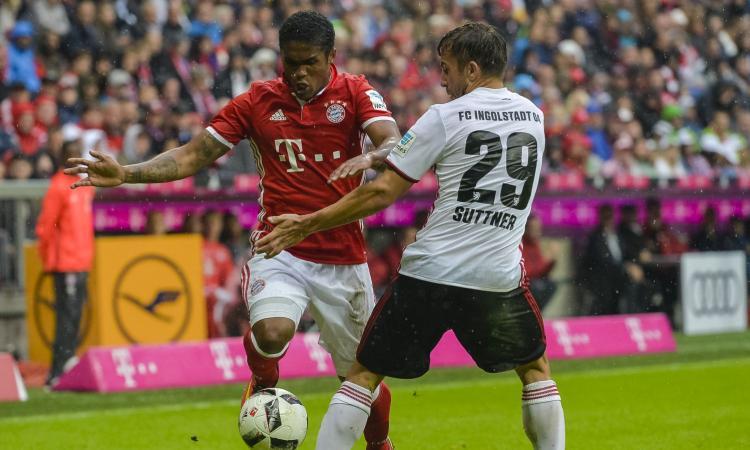 Bayern: Douglas Costa non convince la Juve
