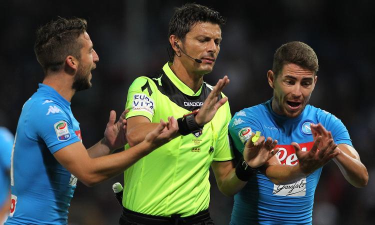 Fiorentina-Lazio: arbitra Damato. Ecco la designazione completa