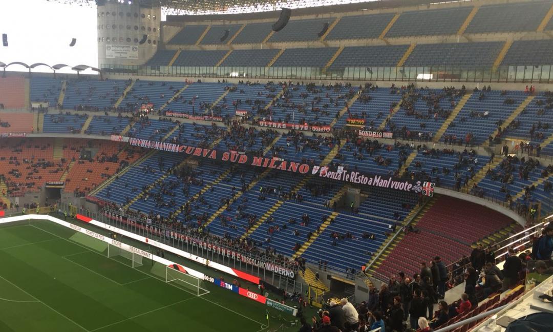 San Siro: la vergogna del calcio italiano!