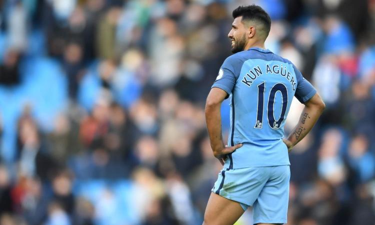 Manchester City: niente Napoli per Aguero