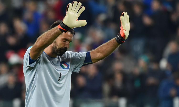 Italia, questa sera prima volta in azzurro per Buffon