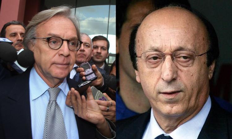 Calciopoli: Tar respinge ricorso Moggi. Juve e viola rischiano il falso in bilancio