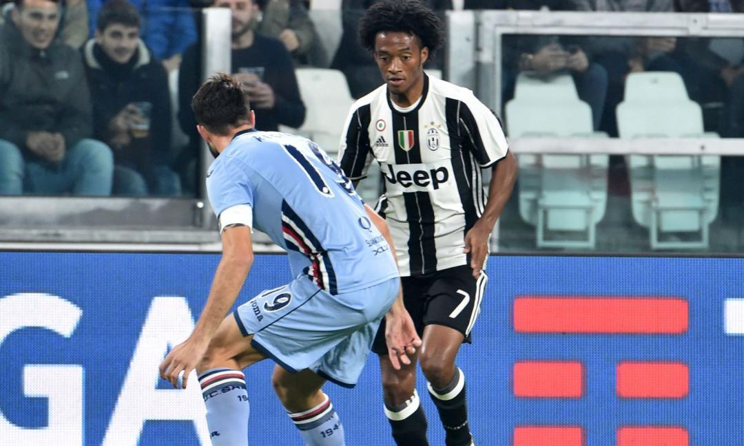 Juve-Sampdoria: le probabili formazioni