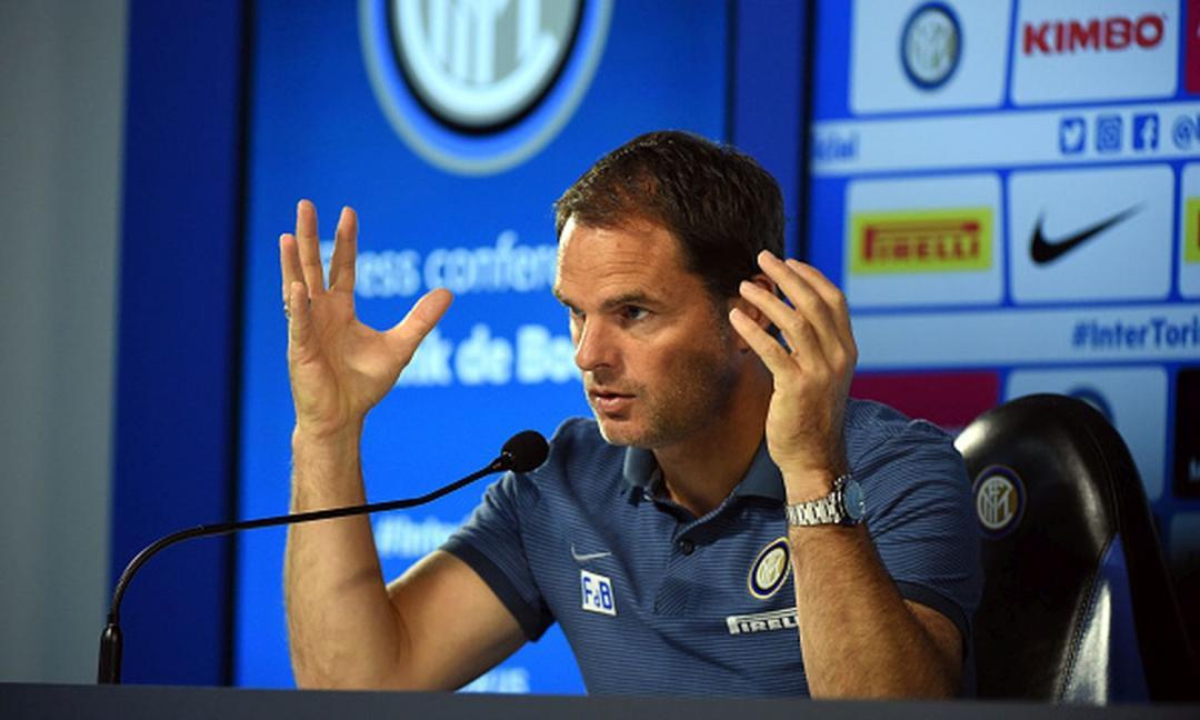 E' giusto che l'Inter esoneri de Boer e cambi allenatore?
