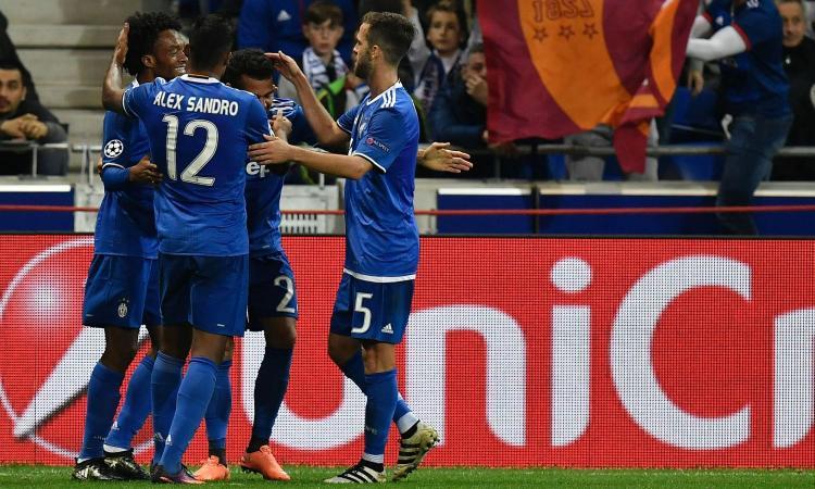Lione-Juventus 0-1: il tabellino