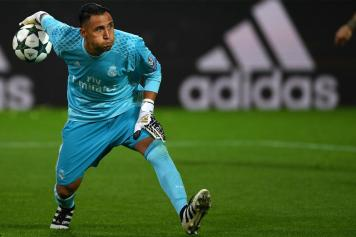 sports shoes 10761 1737f Lazio set sights on Real Madrid goalkeeper as Florentino ...
