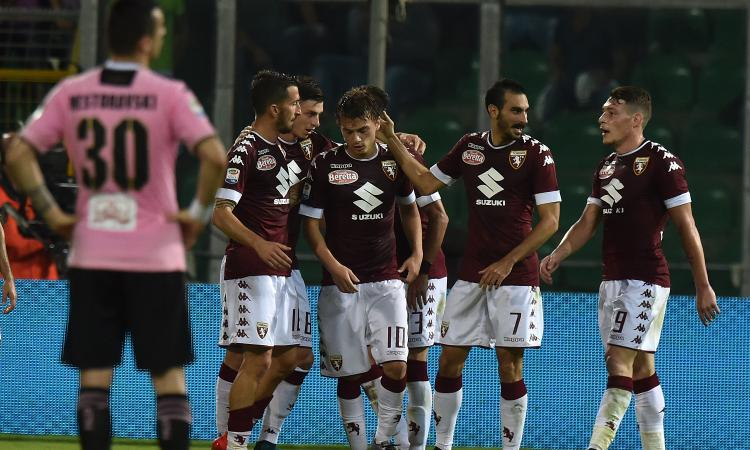 Palermo-Torino 1-4: GOL & HIGHLIGHTS