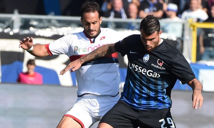 Genoa, Gentiletti finisce fuori rosa
