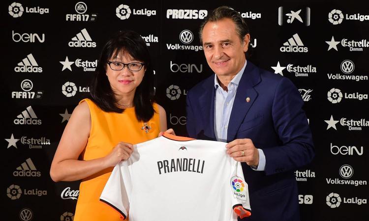Prandelli a CM: 'Voglio riportare in alto il Valencia. Su Cancelo e Montolivo...'