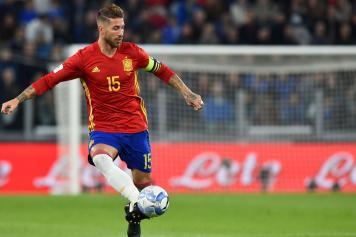 Sergio Ramos Spagna