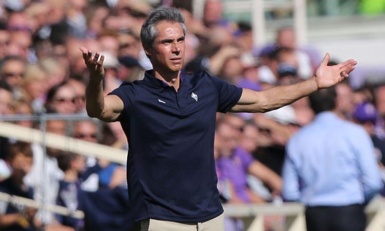 Fiorentina, Sousa: 'Noi quelli che hanno messo più in difficoltà il Napoli. Mi affascina, come la Roma...'