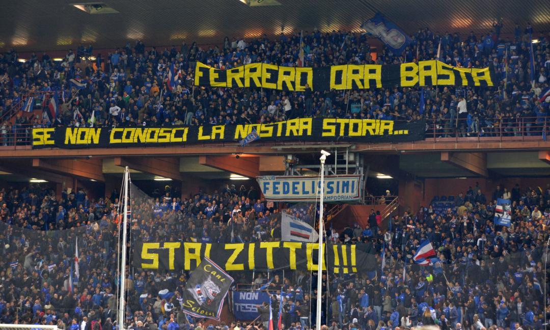 """Tifosi contro Ferrero: """"Non ci rappresenti più""""!"""