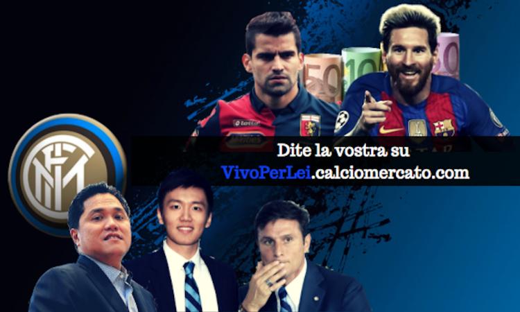 Inter tra Rincon e il sogno Messi, ma l'Uefa ordina: cessioni o niente coppe