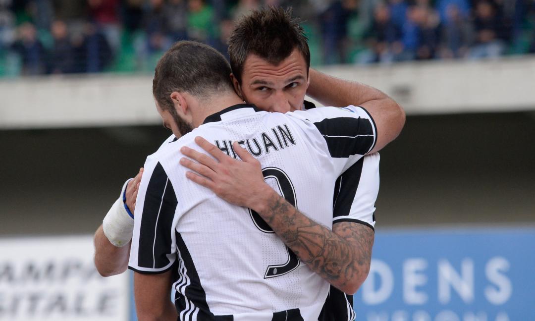 Higuain-Mandzukic: la Juve che era, la Juve di oggi
