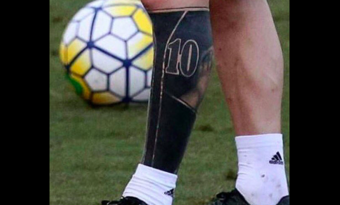 Messi Astonishes Again But His New Tattoo Could Damage His