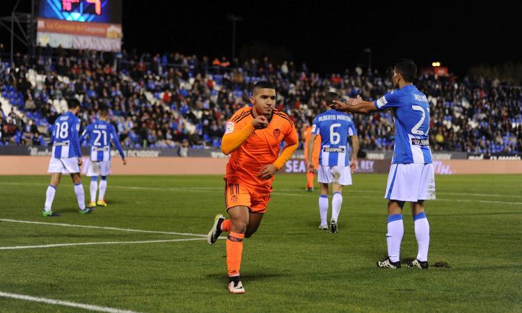 Copa del Rey: il Valencia batte il Leganes e ipoteca gli ottavi, rimonta Espanyol