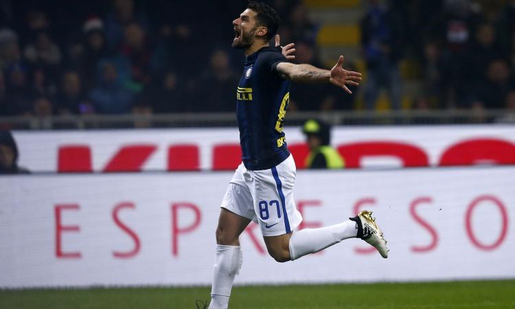 Candreva-Pioli, altro che nemici: la coppia funziona e l'Inter va