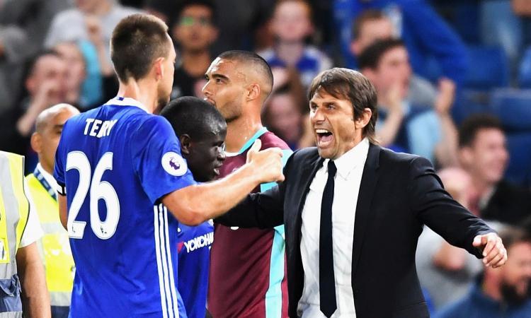 Chelsea, Conte: 'Terry grave perdita, non sono Ancelotti' VIDEO