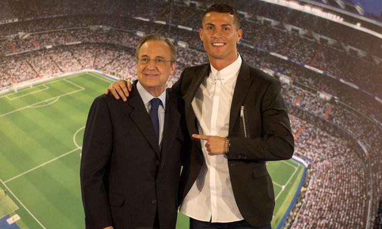 Florentino Perez: 'Ronaldo alla Juve? Non avevamo altre offerte'