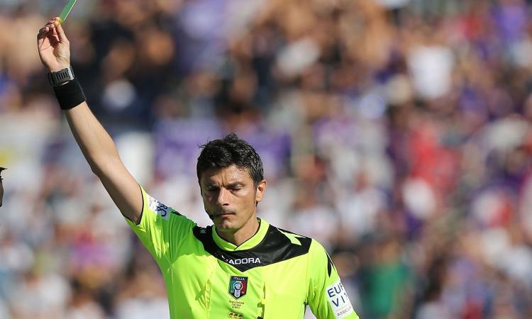 Damato tifoso dell'Inter? Un articolo lo rivela e i tifosi viola sono furiosi
