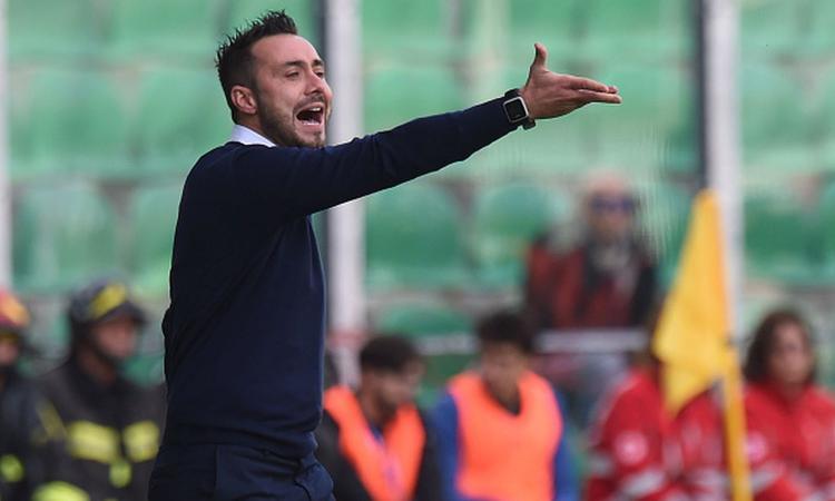 Benevento, De Zerbi: 'Ci manca un punto, gol del Cagliari arrivato a recupero scaduto'