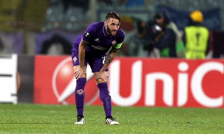 Gonzalo Rodriguez-Fiorentina, è gelo: il Milan e Montella ci pensano