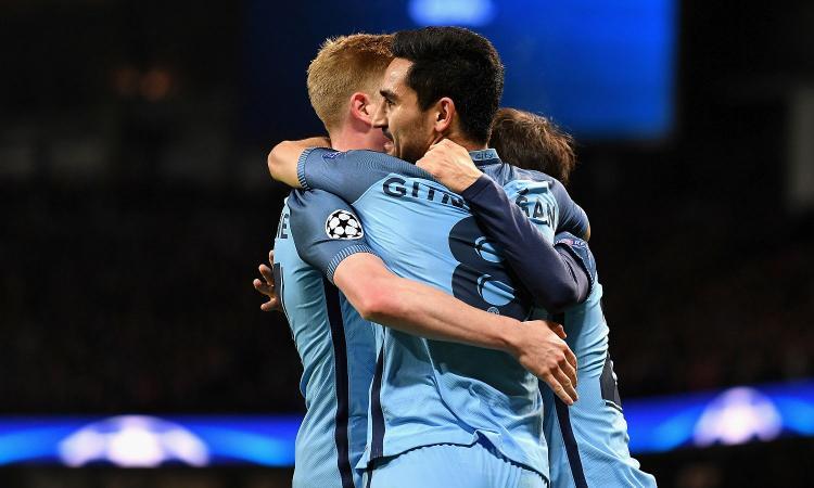 Il Manchester City si migliora: tre gol al Barcellona sono un piccolo record