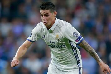 james rodriguez, real madrid, concentrato, 2016/17