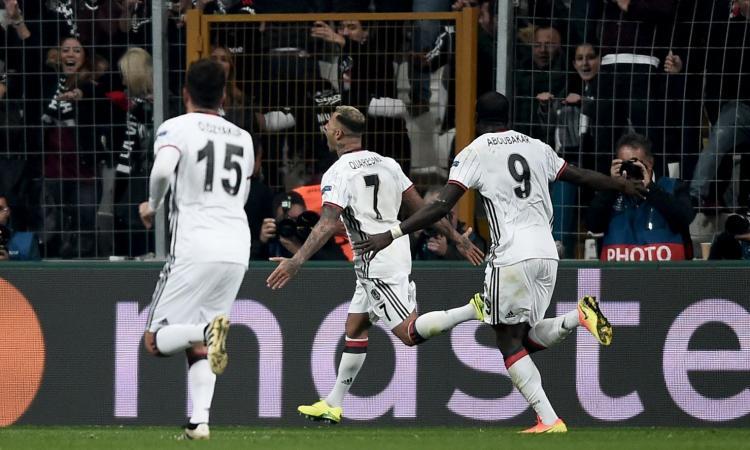 Monaco-Besiktas, le formazioni ufficiali: Keita contro Quaresma