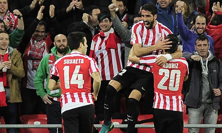 Copa del Rey: vincono Real Sociedad e Athletic, pari Las Palmas
