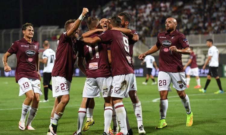 Salernitana-Ascoli 0-0: il tabellino