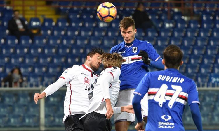 Coppa Italia: disastro Palermo, fuori ai rigori. Tris dell'Atalanta, ora la Juve. Sampdoria, 3-0 al Cagliari