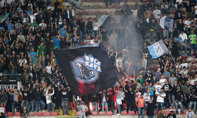 Napoli-Inter: c'era una volta il pienone