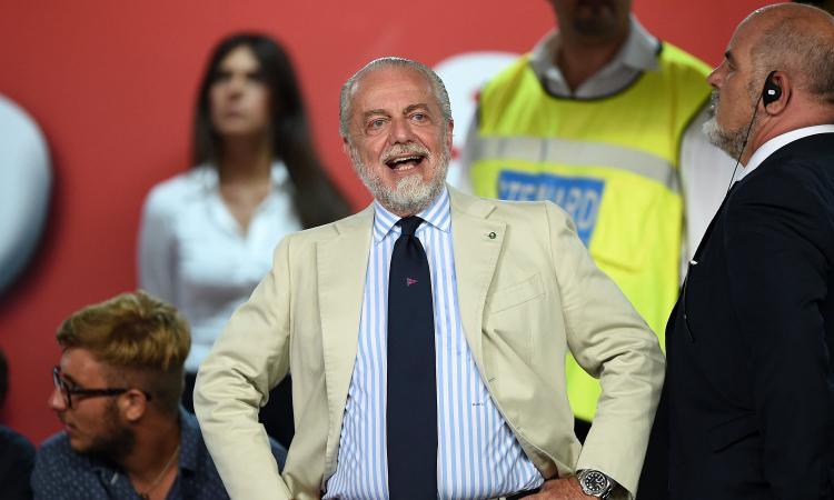De Laurentiis critica tifosi e giornalisti: 'Ve la prendete in quel posto! Hamsik...'